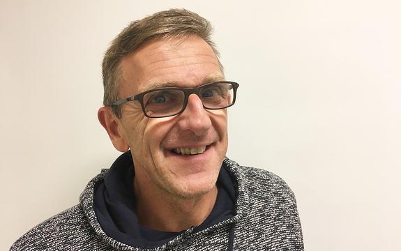 Portrettfoto av Ole Jørgen Øygarden, ny rektor ved Sogndal vidaregåande skule