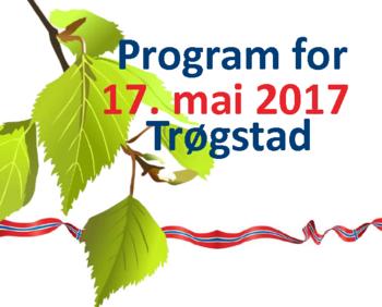 bilde av 17. mai programmet