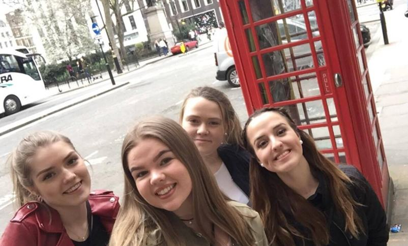 elevar frå vg2 helsefag i London