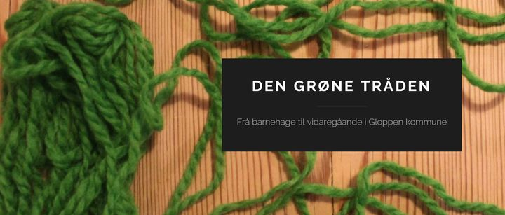 """Bloggen """"Den grøne tråden"""""""