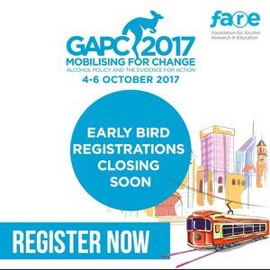 GAPC2017 early bird