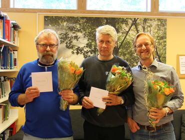 Sluttar: Norman, Leiv og Rune.