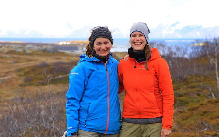 Maja og Tine Marie