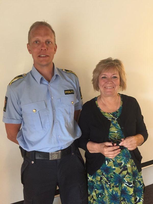 Kay Lund Pedersen og Kjersti Nythe Nilsen