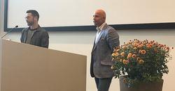 Franz James, HDK og Andreas Ribe