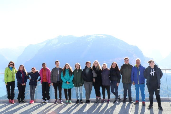 Hoven Loen september 2017  Foto: Silje Reed, Stryn vidaregåande skule