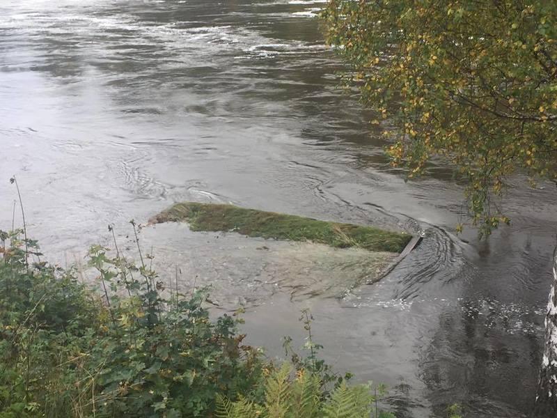 Bilde av vannstand i Otra
