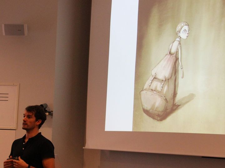 Erik Lindblad snakkar om psykisk helse