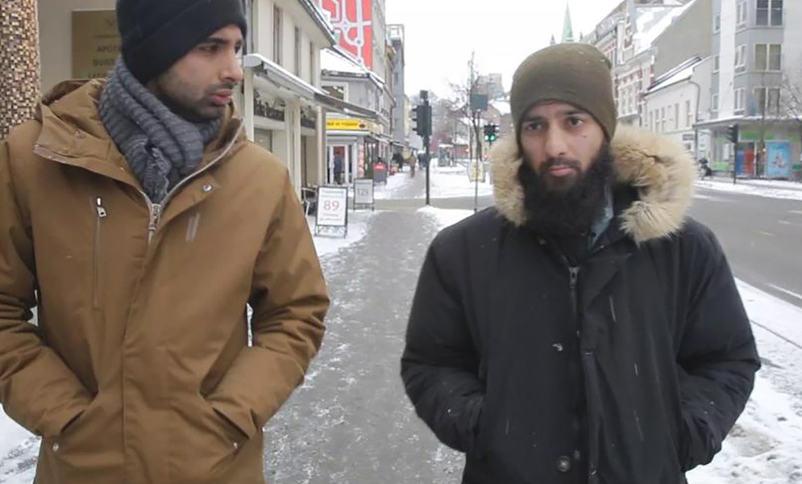 Regissør Adel Khan Farooq og Ubaydullah Hussain