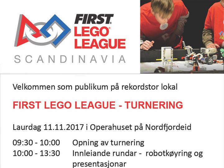 FLL i Operahuset Nordfjord 11.november 2017