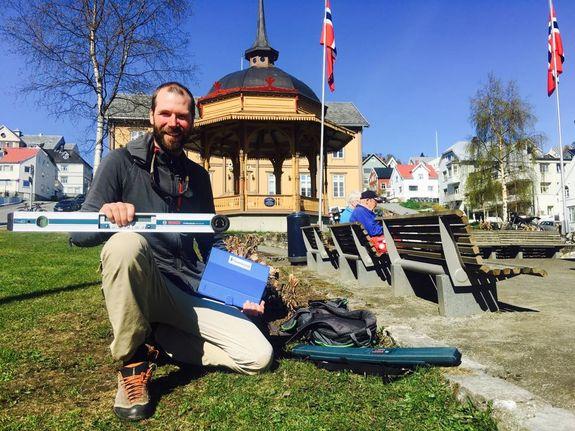Ole Andreas Jenssen kartla tilgjengeligheten av friluftsområdene