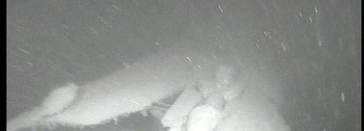K-159 Damage near stern