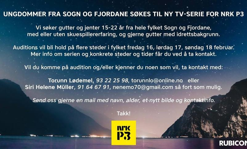 Audition TV-serie
