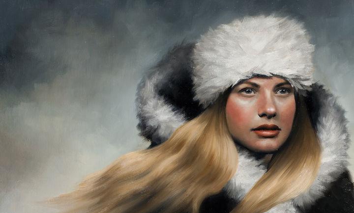 Maleri av Frøydis Aarseth