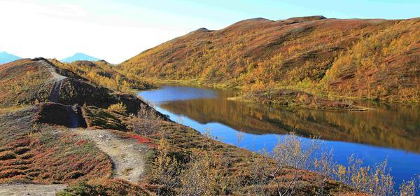 Holmevassfjellet. Foto Tine Marie Valbjørn Hagelin