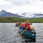 Friluftsskole Balsfjord 2017_kanopadling_Tine Marie Hagelin