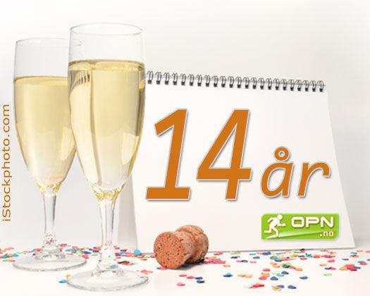 1. november 2004 så nettavisen OPN.no dagens lys - Dette er nå 14 år siden. Grafikk: OPN.no/iStockphoto.