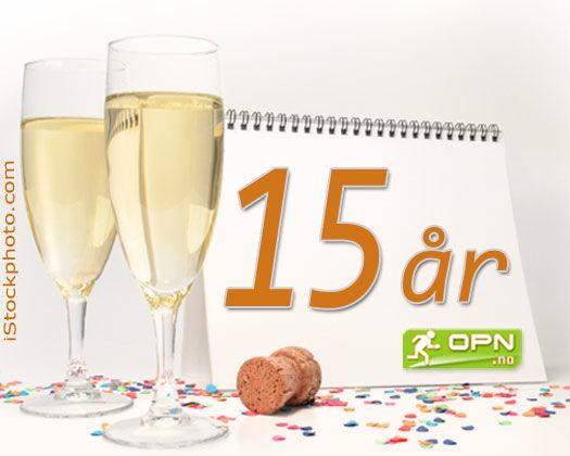 1. november 2004 så nettavisen OPN.no dagens lys - Dette er nå 15 år siden. Grafikk: OPN.no/iStockphoto.