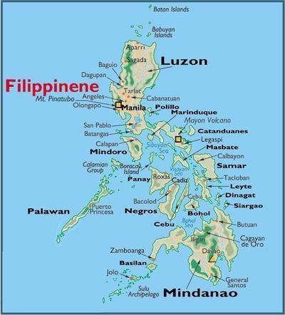 kart filippinene Fattige barn på Filippinene   Karlsøy kommune kart filippinene