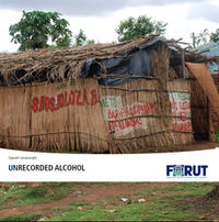 Unrecorded alcohol front page