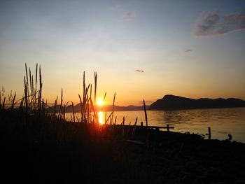Solnedgang Årbostad
