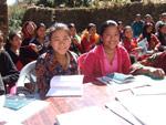 Jenter på kurs i Kopachagu
