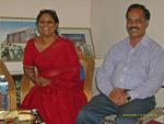 Sheila Devaraj og P. Lakshapathy fra APSA