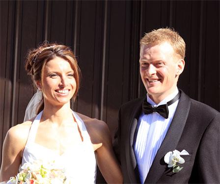 Anders Nordberg og Anne Margrethe Hausken. Foto: Mikkel Lund.
