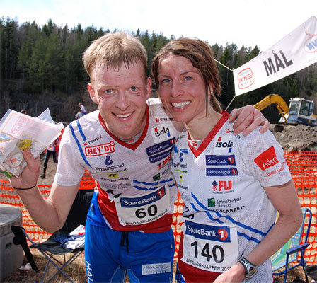 Anders Nordberg og Anne Margrethe Hausken. Foto: Torgeir Snilsberg.