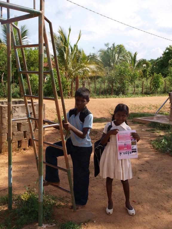 Delatkere på CFS i Vavuniya
