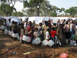 Fra vannkø i flyktningleir til gjenbosetting i Vanni.