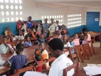 Inne i klasserommet