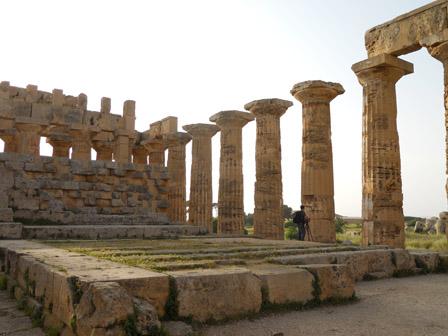 Selinunte-tempelet på Scicilia.