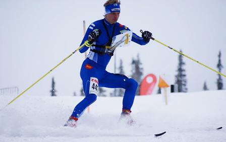 Olli-Markus Taivainen fra EM ski-o 2011. Foto: Stein Arne Negård.