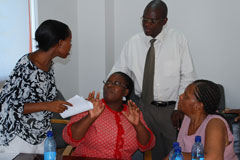 Alcohol policy training in Lesotho
