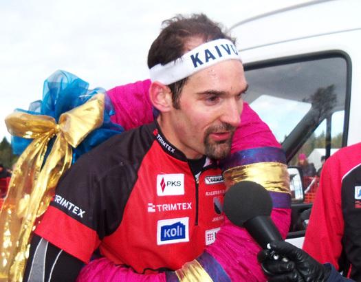 Thierry Gueorgiou avgjorde 10Mila 2011 for Kalevan Rasti. Foto: Vidar Benjaminsen