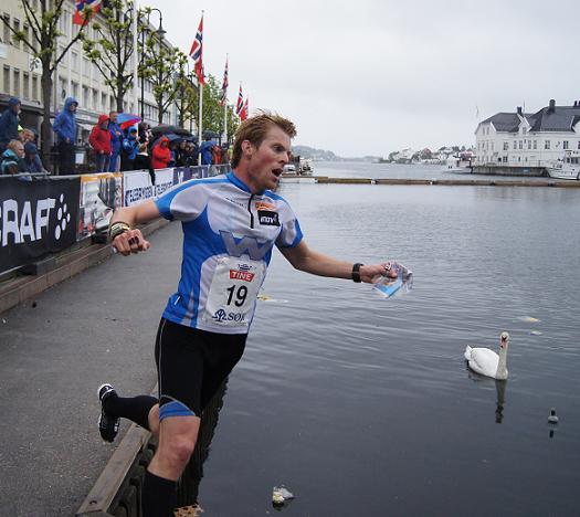 Øystein Kvaal Østerbø vant NM sprint 2011. Foto: Vidar Benjaminsen