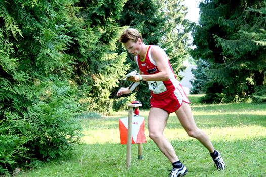 Øystein Kvaal Østerbø på VM-sprinten i Danmark 2006. Foto: Kirsti Kringhaug/OPN.no.