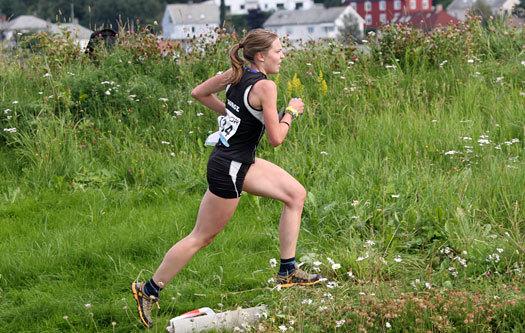 Elise Egseth underveis mot 5. plass i VM-sprinten. Foto: Geir Nilsen / OPN.no.