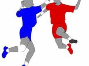 tohånballspillere