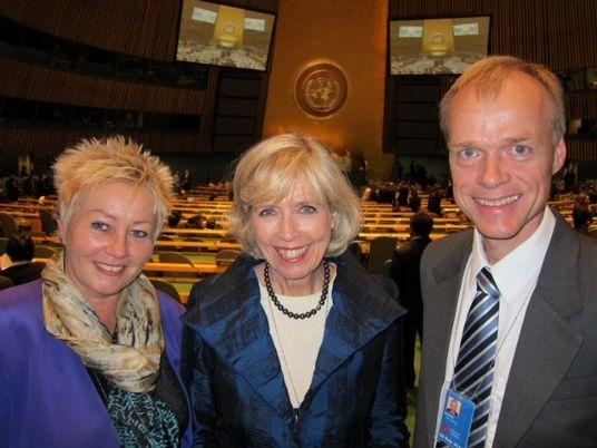 Anne Lise Ryel, Anne Grethe Strøm Erichsen, Øystein Bakke