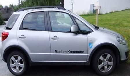 Bilde av bil fra hjemmetjenesten