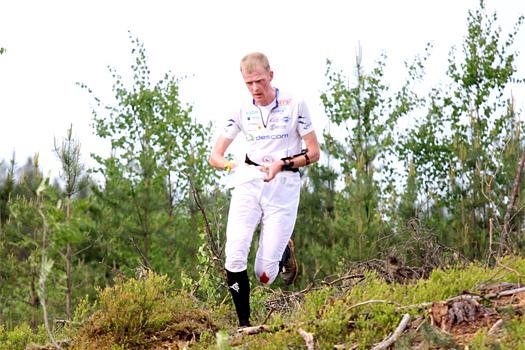 Anders Nordberg i et VM-uttaksløp for senior like utenfor Hønefoss i Ringerike i mai 2012. Foto: Geir Nilsen/OPN.no.
