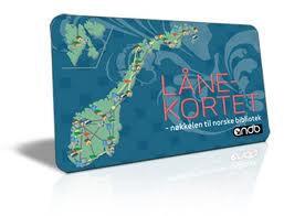Bildresultat för nasjonalt lånekort