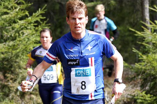 Øystein Kvaal Østerbø på Smaaleneneløpet i Østfold O-weekend 2013. Foto: Geir Nilsen/OPN.no.