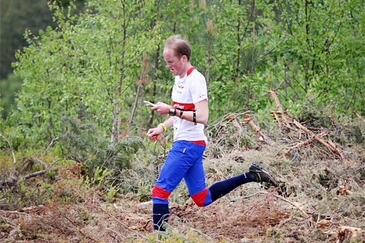 Bjørn Ekeberg under et VM-uttaksløp på Ringerike i 2012. Foto: Geir Nilsen/OPN.no.