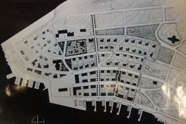 HEMNESBERGET  brente steders regulering  regplan  1942 original_600x400.jpg