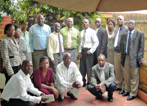 Corrected Task Force Members at a meeting 11-03-2010 KIBOKO Town Hotel 300p.jpg