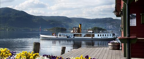 Bilete av dampbåten Bjoren
