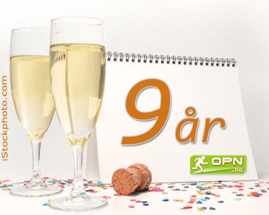 1. november 2004 så nettavisen OPN.no dagens lys - I dag er dette 9 år siden. Grafikk: OPN.no/iStockphoto.